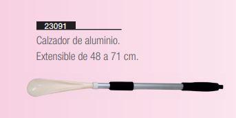 Calzador Regulable De Aluminio