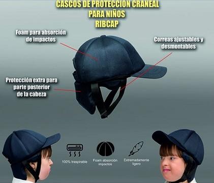 Casco de Protección INFANTIL Craneal