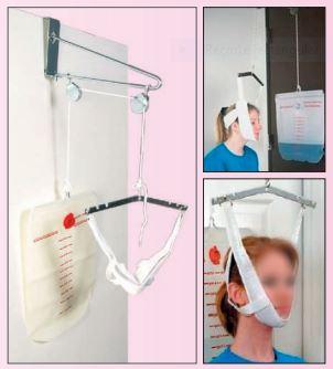 aparato de tracción cervical