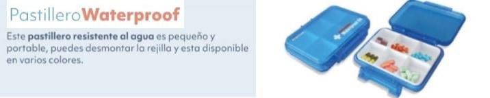 Pastillero WATERPROOF Resistente Al Agua
