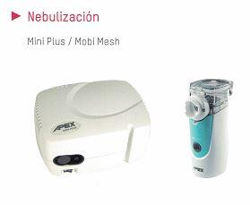 nebulización terapias respiratorias