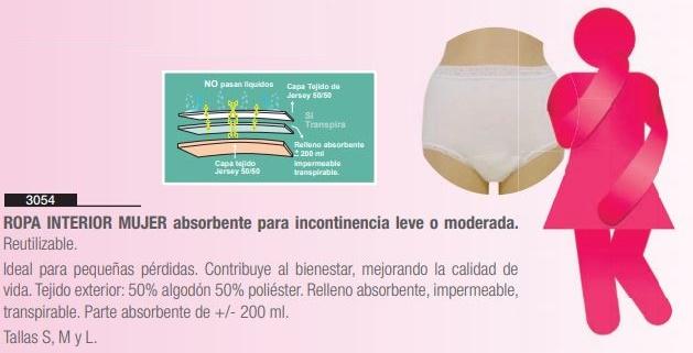 Ropa Interior Mujer Reutilizable