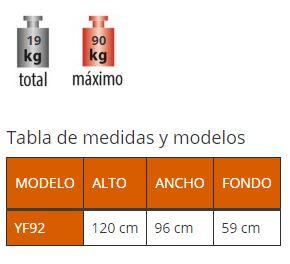 Medidas Bicicleta Plegable ACCESO TOTAL