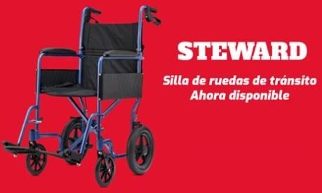 Silla De Ruedas Tránsito STEWARD