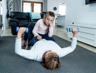 Hacer ejercicio en casa COVID-19