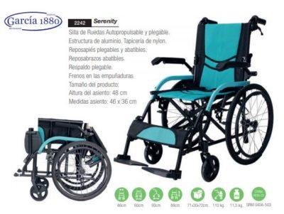 silla de ruedas serenity