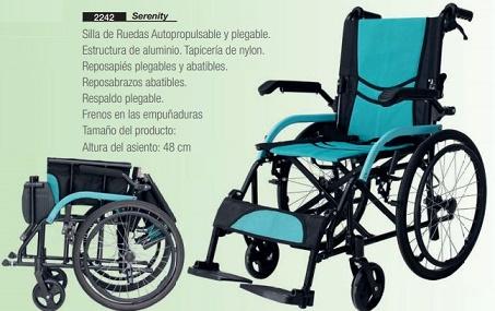 Silla De Ruedas De Aluminio SERENITY