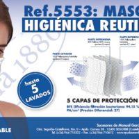 Mascarilla Higiénica Reutilizable