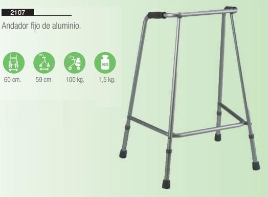 Andador Fijo de Aluminio
