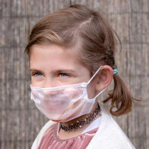 mascarilla para niños transparentes