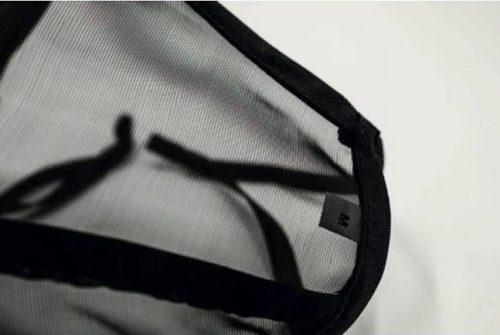 tejido transparente homologado para mascarillas