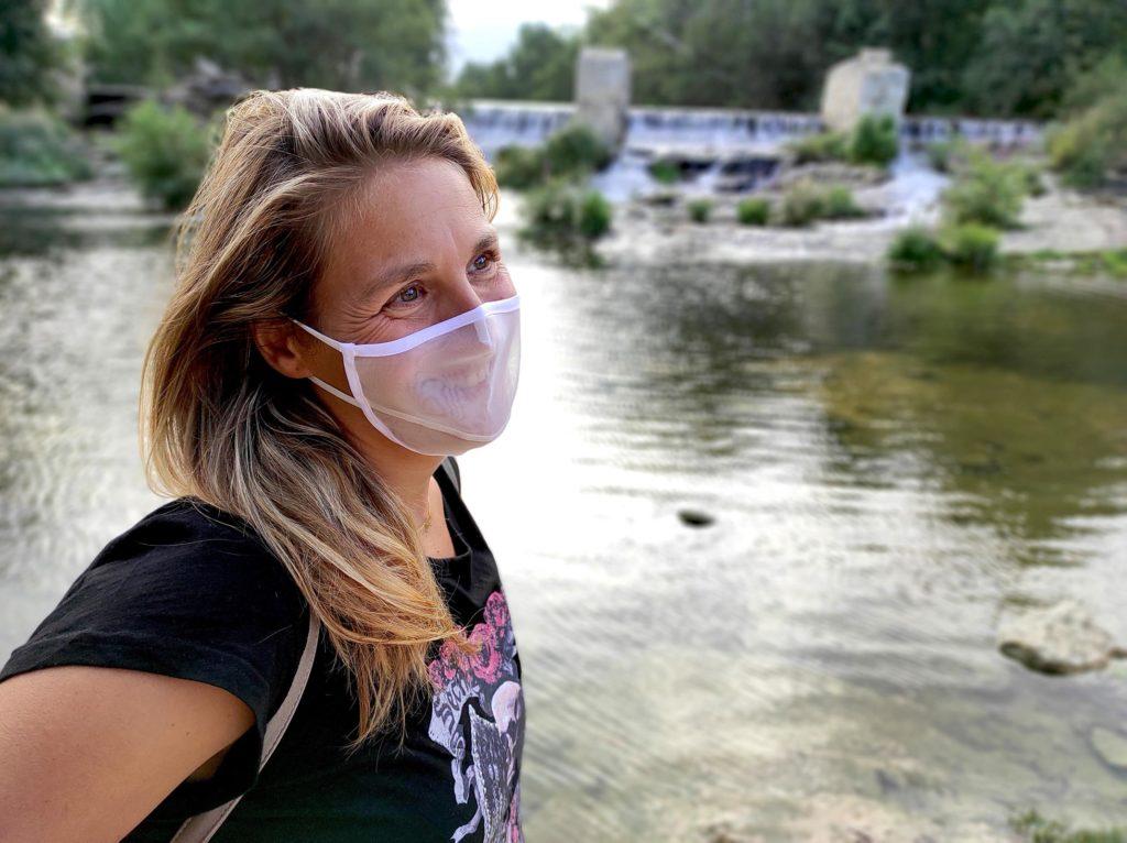 mascarilla higienica transparente apex medical