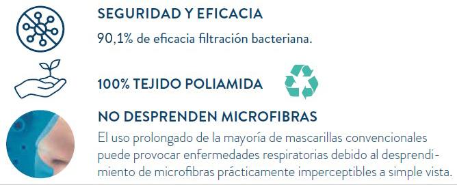 ventajas mascarillas transparentes reutilizables