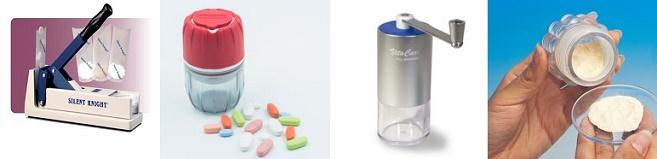 trituradores de pastillas