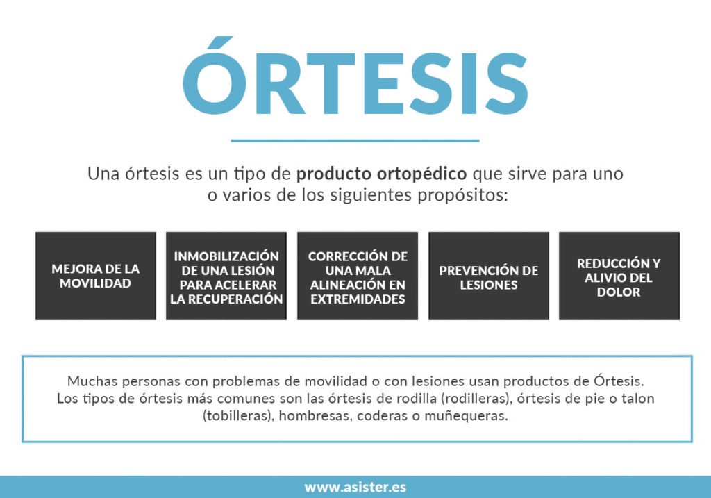 definicion de ortesis caracteristicas y funciones
