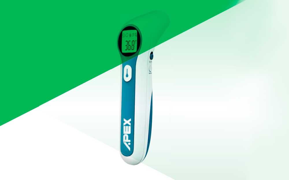 termometro digital de infrarrojos jumper