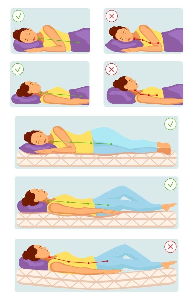 guia para dormir sin dolor y buena postura