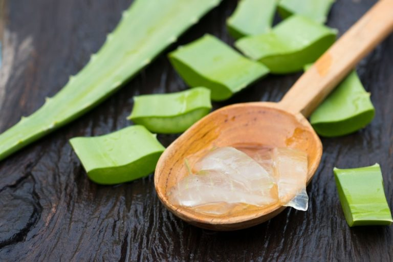 extracto de aloe vera como solucion casera para el pelo