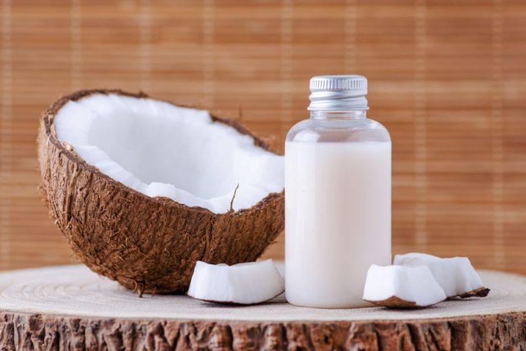 leche de coco remedio casero para el pelo