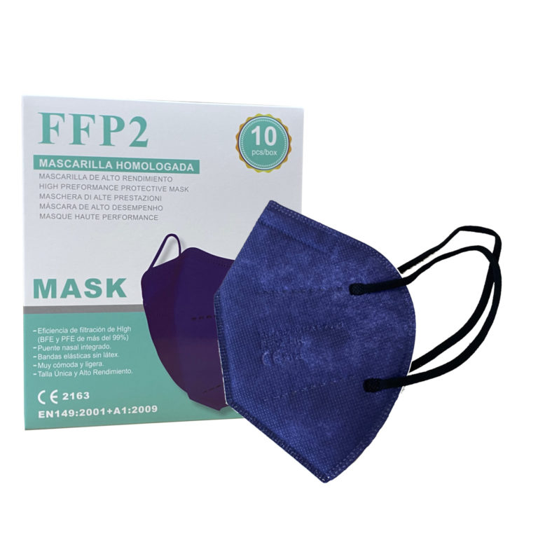 mascarilla azul marino ffp2
