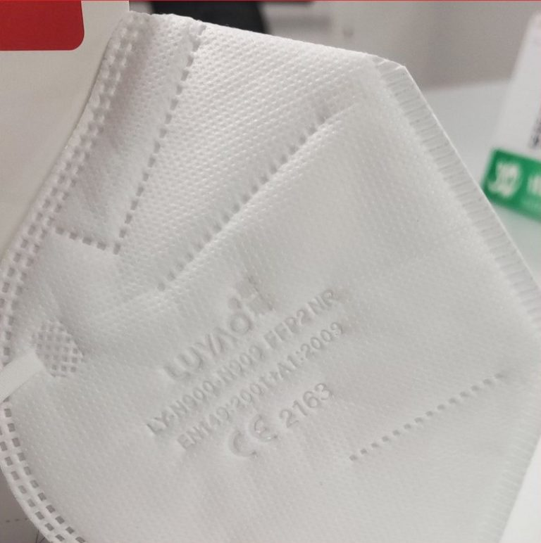 mascarillas proteccion covid ffp2 certificadas