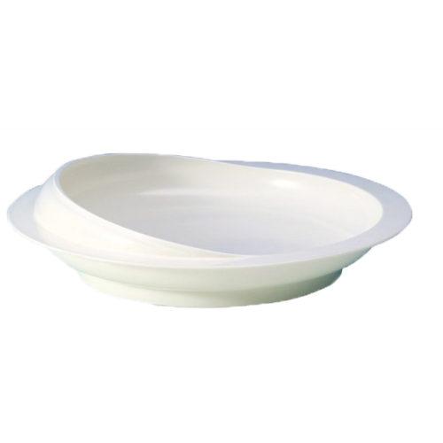 plato adaptado con borde