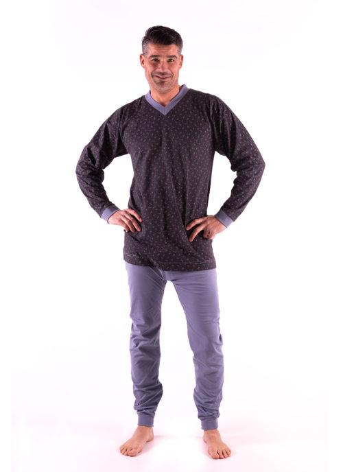pijama antipañal color marron 4care