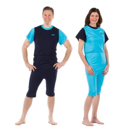 pijama corto incontinencia hombre y mujer