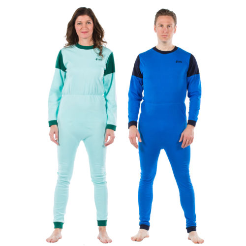 pijamas antipañal mono par adultos algodon