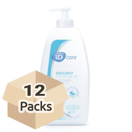 pack cantidad de gel de baño y cabello id care