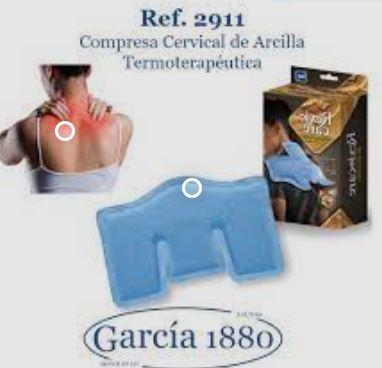 Compresa Cervical Termoterapéutica de Arcilla