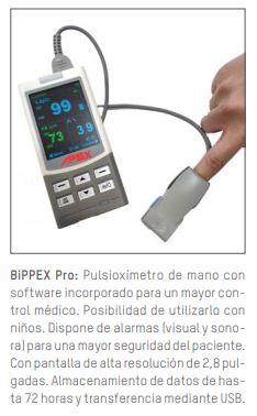 Pulsioxímetro Digital de Mano BiPPEX Pro